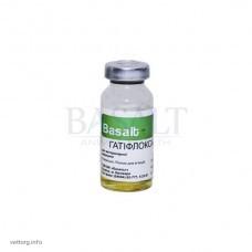 Гатіфлоксацин 5%, 10 мл. (Базальт)