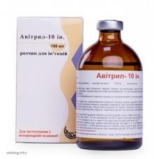 Авитрил 10% инъ., 100 мл. (AVICO)