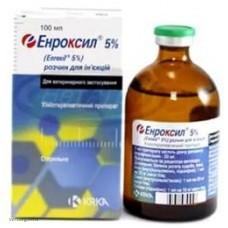 Энроксил 5% (инъ.), 50 мл. (KRKA)
