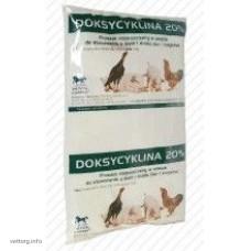 Доксициклин 20 %, 1 кг., (Vetos-Farma)