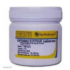 Бровасептол (таблетки), 100 шт. (БроваФарма)
