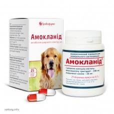 Амокланид (капсули) 0,5 г, №25. (БроваФарма)