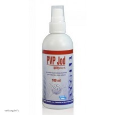 ПВП Йод спрей (Pvp Yod spray), 100 мл (Bioveta)