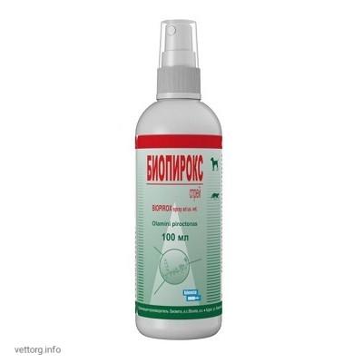 Биопирокс спрей (Biopirox spray), 100 мл (Bioveta, s. r. o.)