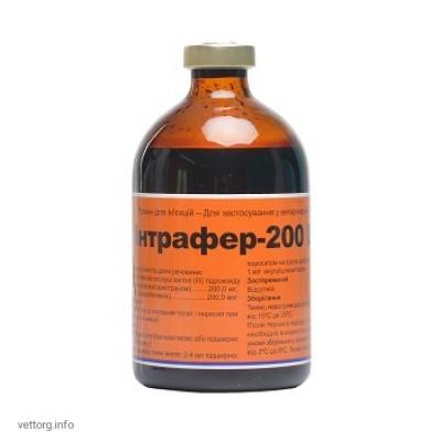 Интрафер - 200 В12, 100 мл. (Interchemie)
