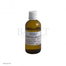 Молочна кислота 40%, 50 мл (Базальт)