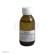 Молочна кислота 40%, 100 мл (Базальт)