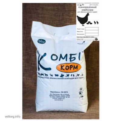 КОМБИкорм Несушка Молодняк 8-17 недель, 20 кг. (ВИТА)