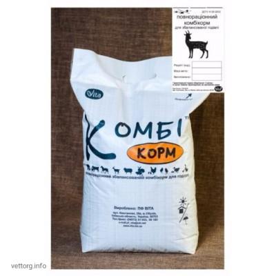 КОМБИкорм Козы Дойное стадо (гранулы), 20 кг. (ВИТА)