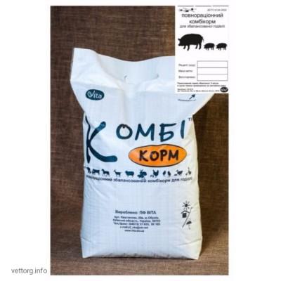 КОМБИкорм Свиньи Финиш 4 мес.+, 10 кг. (ВИТА)