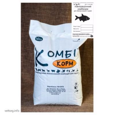 КОМБИкорм Рыба Карповые одногодка (гранулы), 10 кг. (ВИТА)