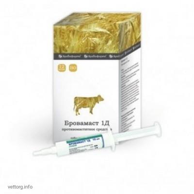 Бровамаст 1Д (шприц-туба), 10 мл. (БроваФарма)