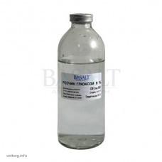 Розчин глюкози 5%, 200 мл. (Базальт)