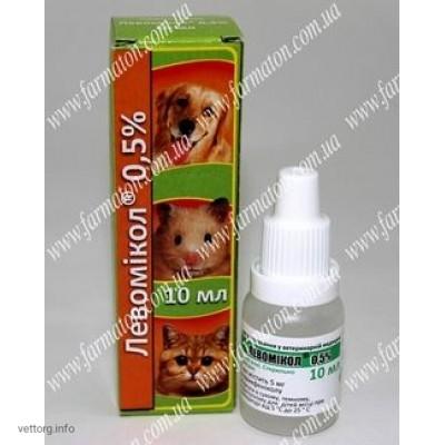Левомикол® 0,5% Глазные капли, 10 мл. (Фарматон)