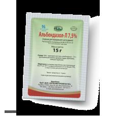Альбендазол - Л 7,5%, 15 г. (УЗВПП)