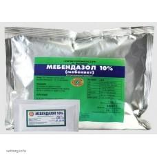 Мебендазол 10%, 500 г.