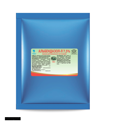 Альбендазол - Л 7,5%, 150 г. (УЗВПП)