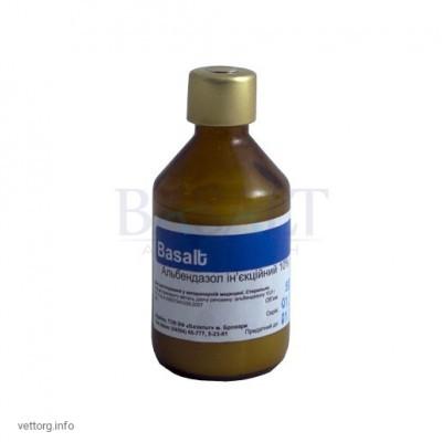 Альбендазол 10% инъ., 50 мл. (Базальт)
