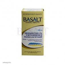 Івермектин 1% з вітаміном Е, 100 мл. (Базальт)
