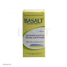 Метронидазол 5%, 100 мл. (Базальт)