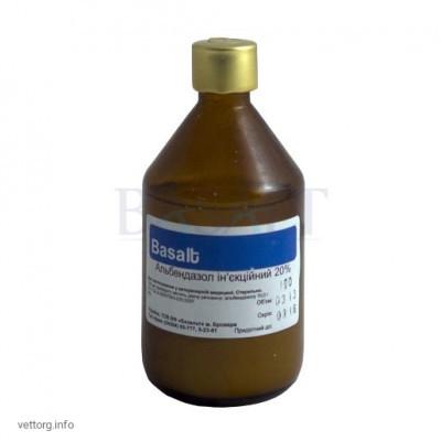 Альбендазол 20% инъ., 100 мл. (Базальт)