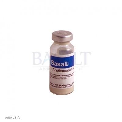 Альбендазол 20% инъ., 10 мл. (Базальт)
