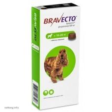 Бравекто® (жевательная таблетка), вес собак 10-20 кг. (MSD Animal Health)