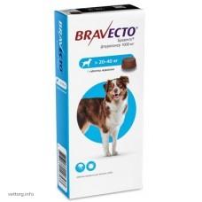 Бравекто® (жевательная таблетка), вес собак 20-40 кг. (MSD Animal Health)