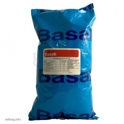 Альбендазол 10%, 1 кг. (Базальт)