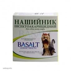 Ошейник инсектоакарицидный для собак небольших пород с амитразом (Базальт)