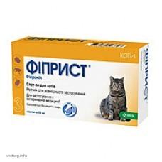 Фиприст спот-он 10% для котов (KRKA)