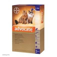 Адвокат для котов 4-8 кг, 0,8 мл. № 3 (Bayer)