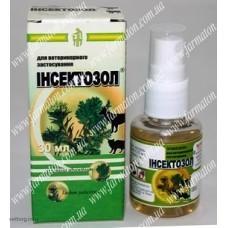 Інсектозол з екстрактом рослин (спрей), 30 мл.