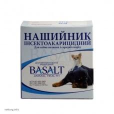 Ошейник инсектоакарицидный для собак больших и средних пород с дельтаметрином (Базальт)