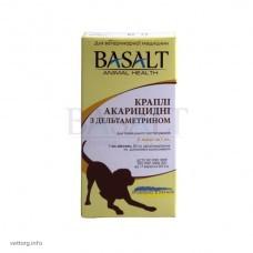 Капли акарицидные с дельтаметрином № 5, 1 мл. (Базальт)