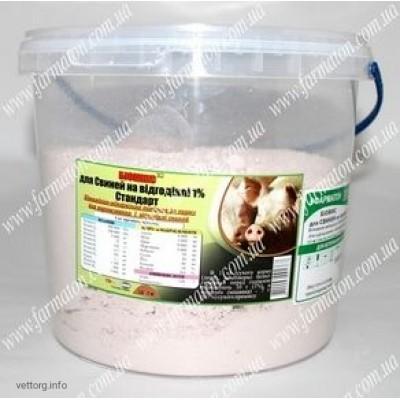 Биомикс® Для свиней на откорме 1% Стандарт, 3 кг. (Фарматон)