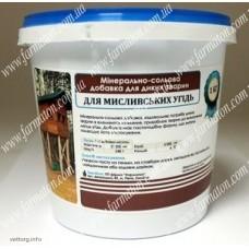 Минерально-солевая добавка для диких животных «Для охотничьих угодий», 1 кг. (Фарматон)