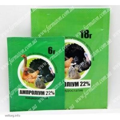 Ампролиум 22%, 6 г. (Фарматон)