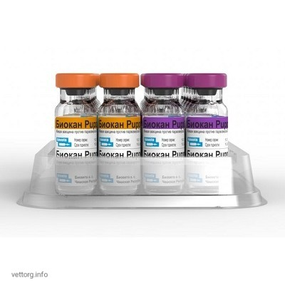 Биокан Puppy (Biocan Puppy) вакцина, 1 доза № 10 (Bioveta, s. r. o.)