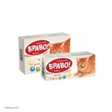 "Витамины ""Браво"" для кошек, 60 шт. (Артериум)"