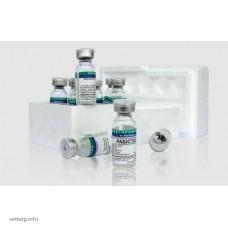 """Вакцина антирабическая жидкая инактивированная для имунизации животных """"Рабистар"""" (RABISTAR), 1 доза"""
